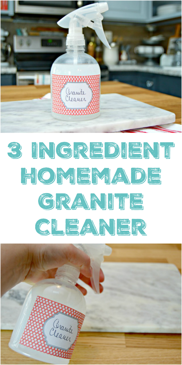 how to clean oil on granit coutertop