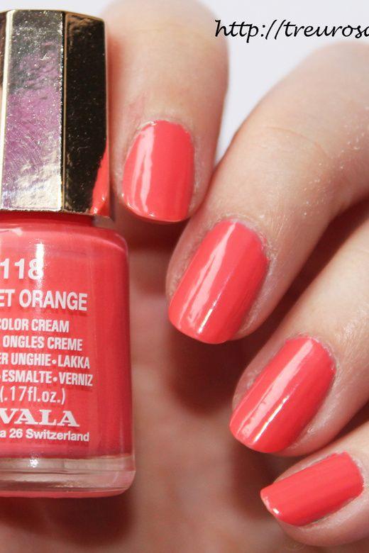 Treurosa: Mavala - die neuen Oasis Color\'s - Sunset orange   cores ...