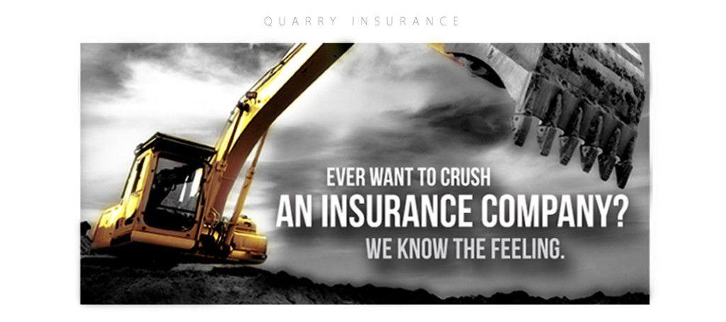 Concept for commercial lines insurance quarry niche