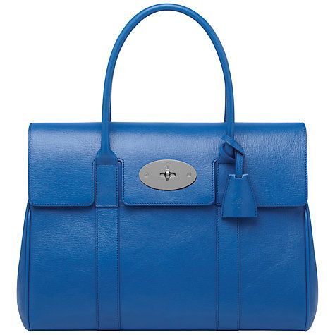 Buy Mulberry Bayswater Leather Grab Handbag Online at johnlewis.com ... 2e3fd2f4a1d67