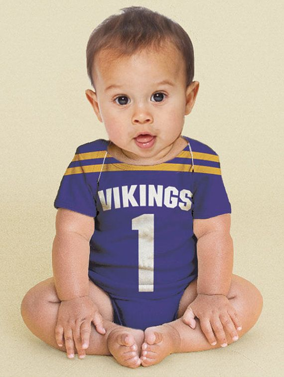 Baby Football Jersey Bodysuit Personalized Jersey Any Team | Etsy ...