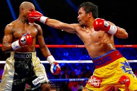 Mayweather Vs Pacquiao Bob Arum Claims Injury Controversy Cost Manny Fight Boxing Highlights Manny Pacquiao Professional Boxing
