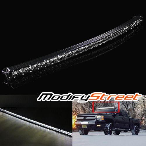 240w 50 19200 lumen single row curved cree led light bar atv utv
