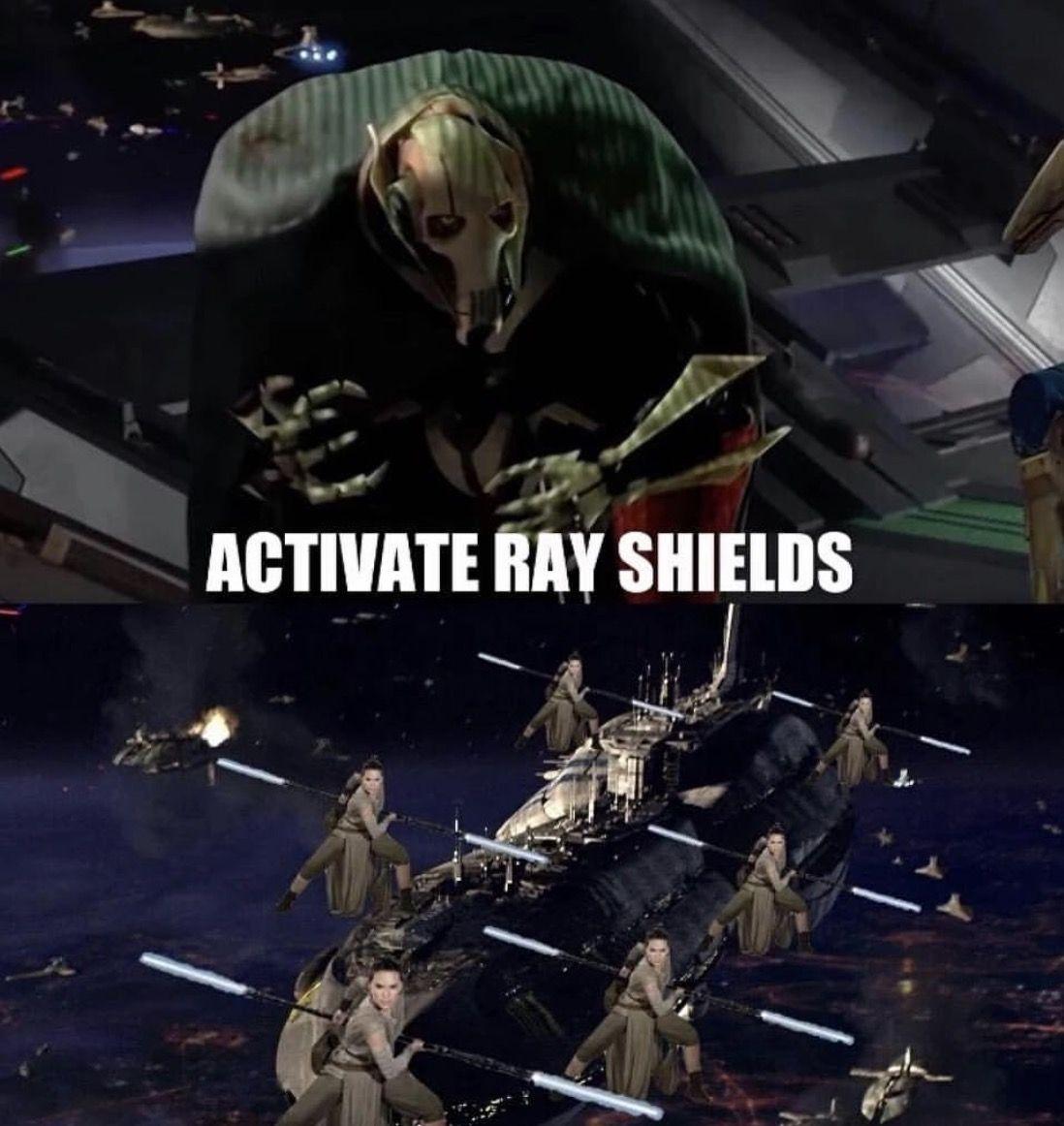 Grievous Rey Star Wars Meme Star Wars Song Star Wars Humor Rey Star Wars