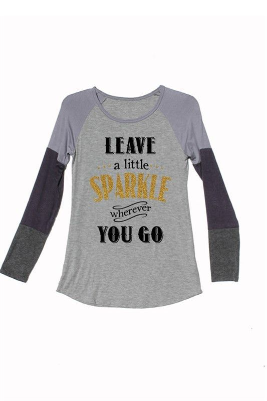 Leave A Little Sparkle Wherever You Go Graphic T