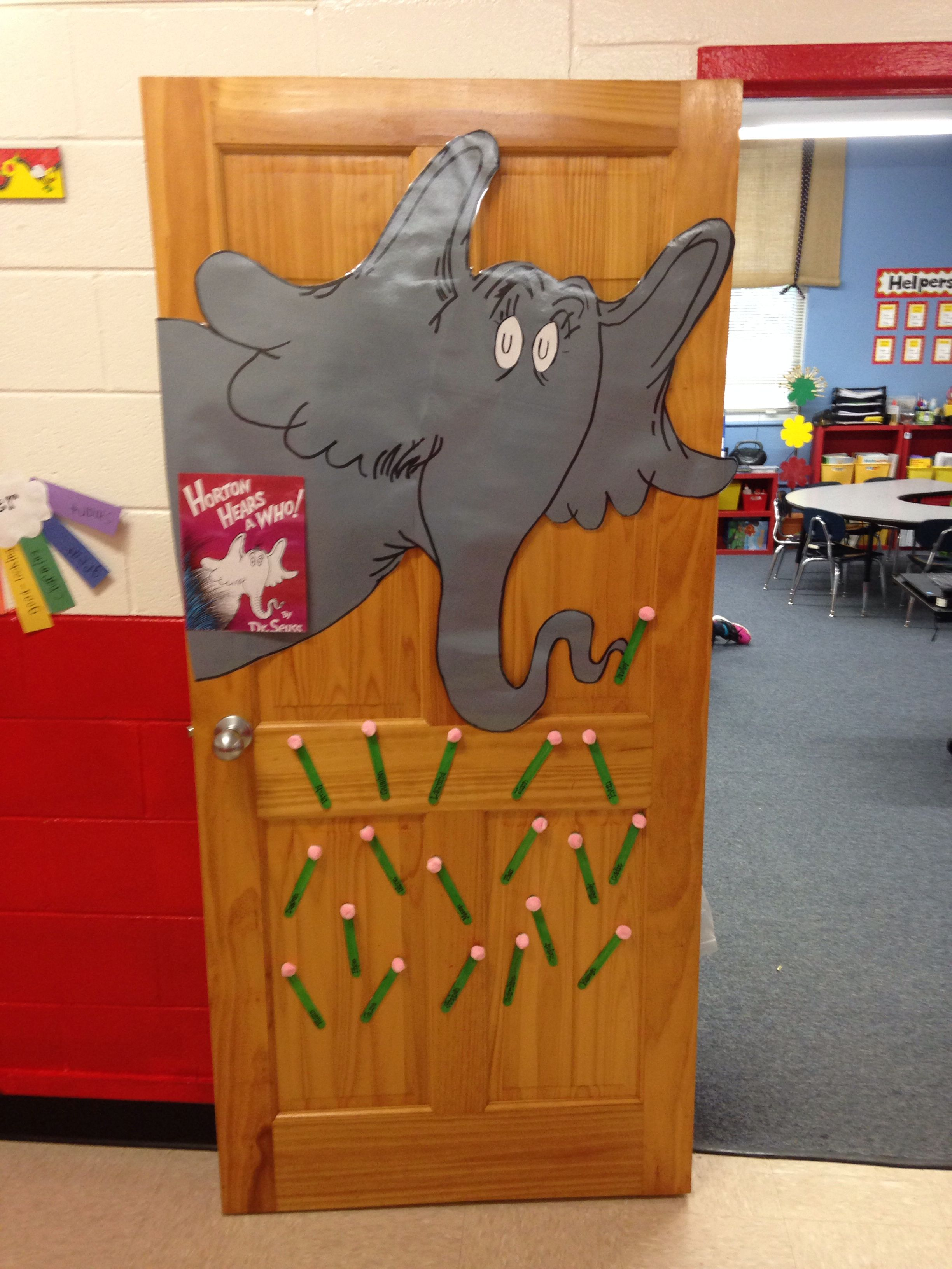 Horton Hears A Who Door Decoration With Images