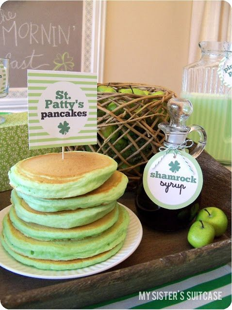 Top O' the Mornin' to Ya! {St. Patrick's Day Breakfast} - My Sister's Suitcase - Packed with Creativity