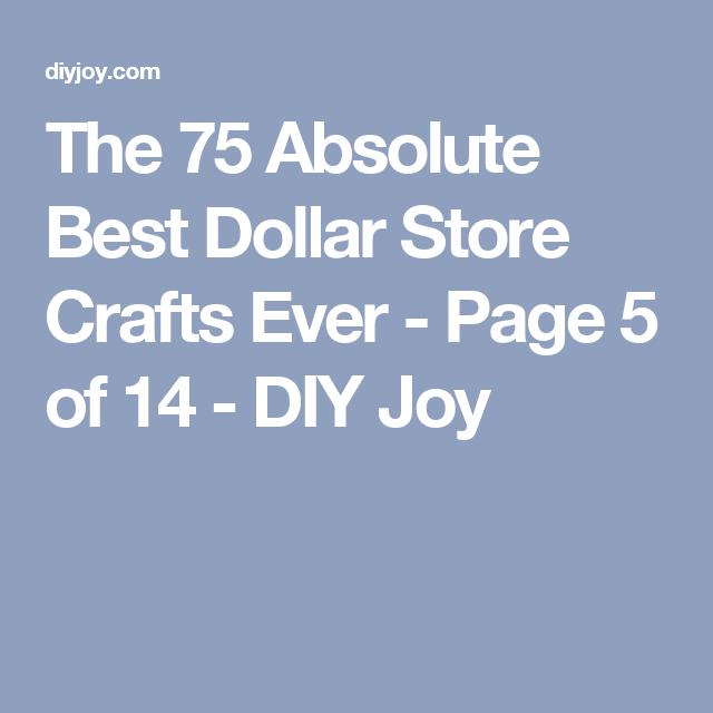 75 Dollar Store Crafts Dollar Store Crafts Dollar