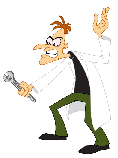 Dr Heinz Doofenshmirtz2 Png Phineas And Ferb Character Poses Heinz