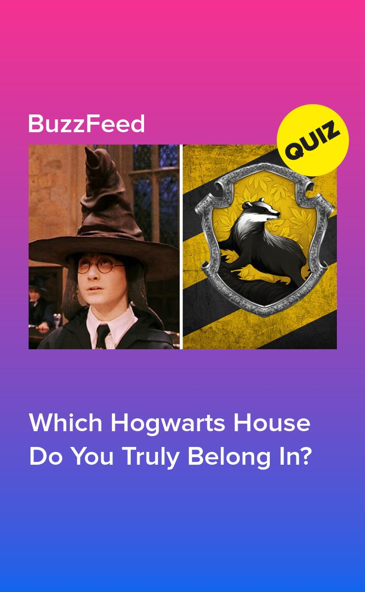 These 10 Questions Will Reveal Your True Hogwarts House Hogwarts