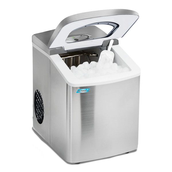 Mr Freeze 26 Lb Daily Production Portable Clear Ice Maker