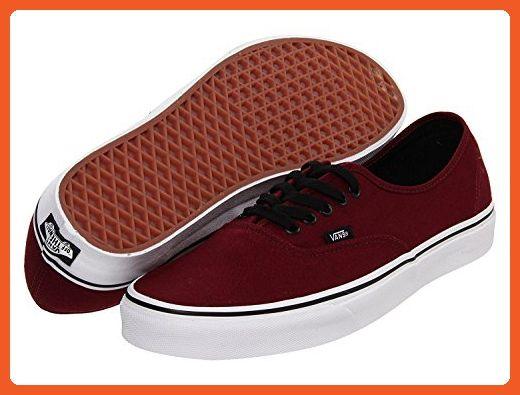 Mens Vans Authenic Lace Up Low Rise Casual Skate Shoes Plimsoll Sneakers (36-37 M EU / 5 D(M) US Portroyale/Black)