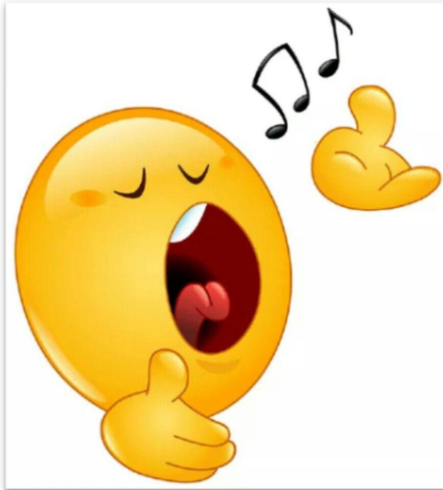 sing it loud smileys funny emoticons funny faces smiley emoji emoji faces [ 868 x 960 Pixel ]