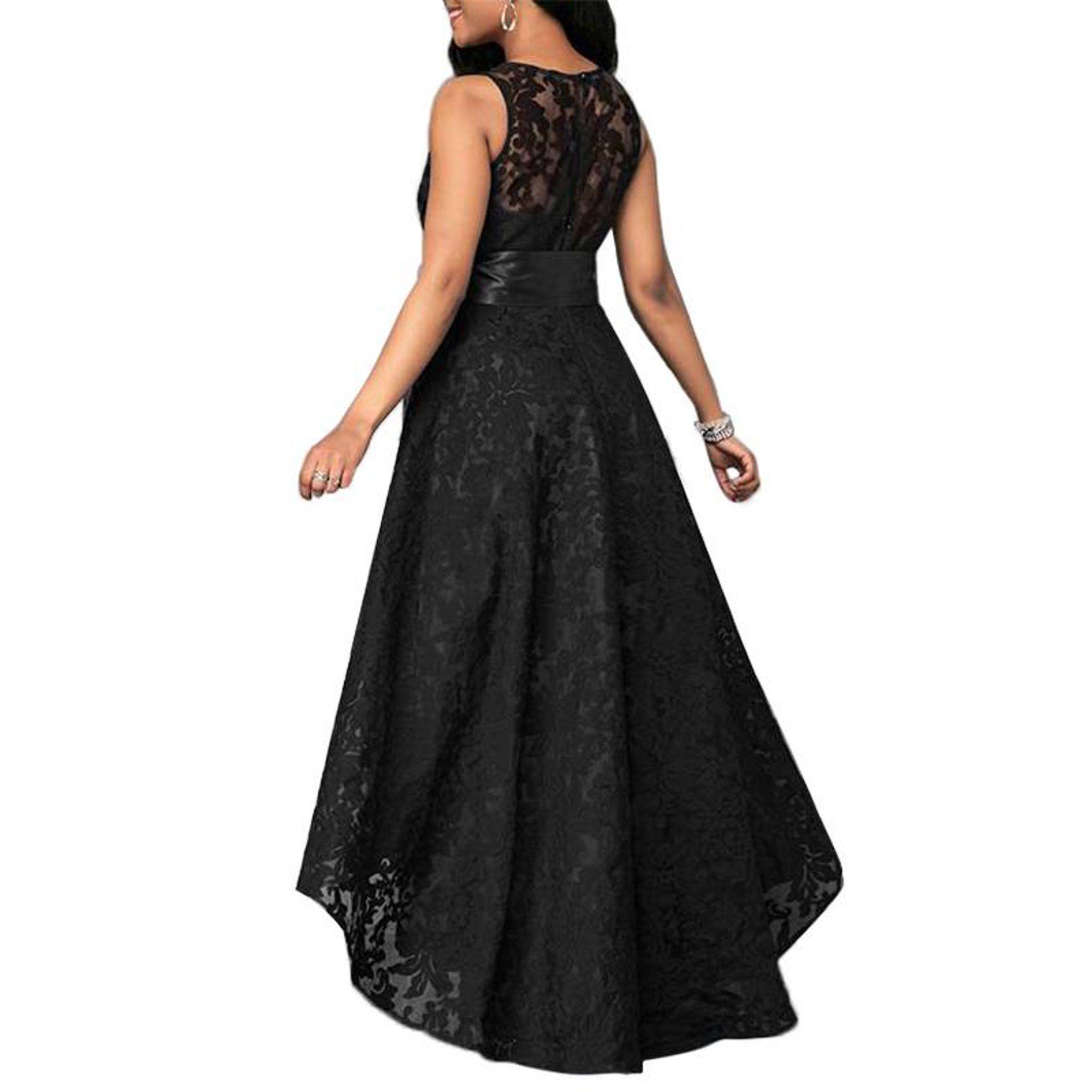 Justvh Justvh Women S Formal Floral Lace Sleeveless High Low Evening Party Maxi Dress Walmart Com Maxi Dress Party Plus Size Wedding Guest Dresses Dresses [ 2000 x 2000 Pixel ]