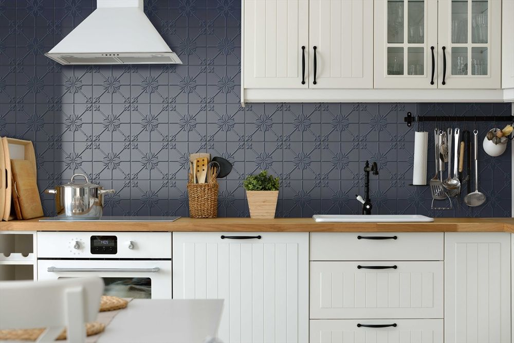 What Do You Think Of This Splashbacks Idea I Got From Beaumont Tiles Check Out More Ideas Here T Kitchen Splashback Kitchen Splashback Pattern Kitchen Remodel