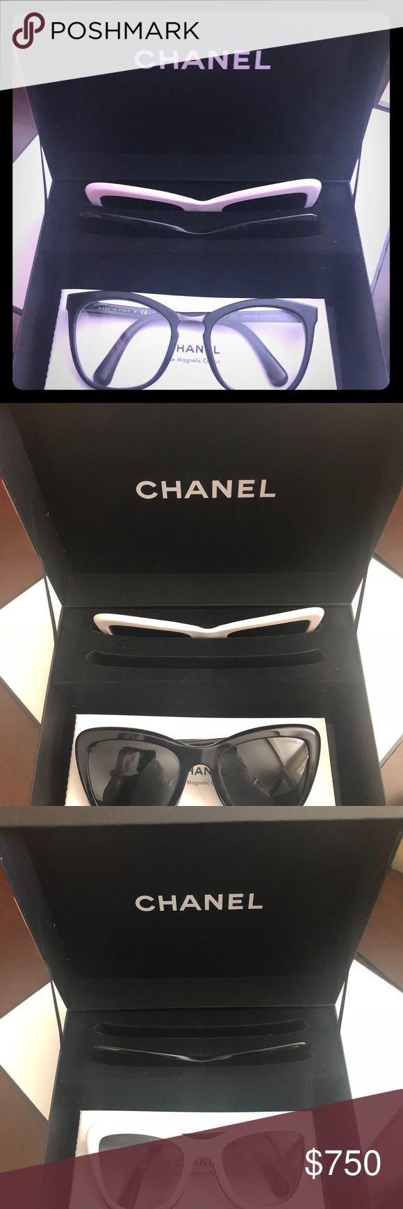 229ea7a921a1d Chanel summer 2018 magnetic clip sunglasses These glasses are a limited  edition style that just came