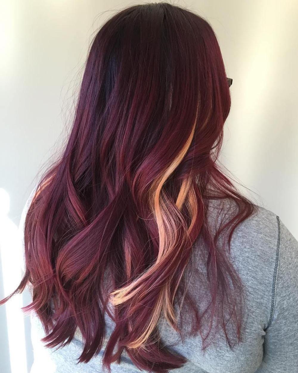 45 Shades of Burgundy Hair Dark Burgundy, Maroon