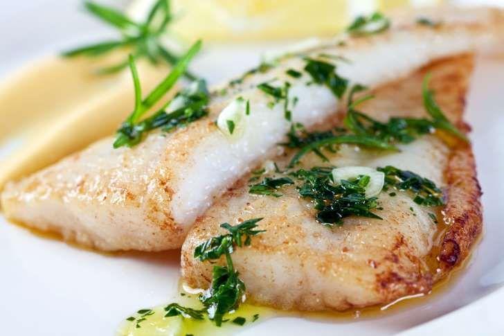 Jantar leve: Filé de pescada ao forno