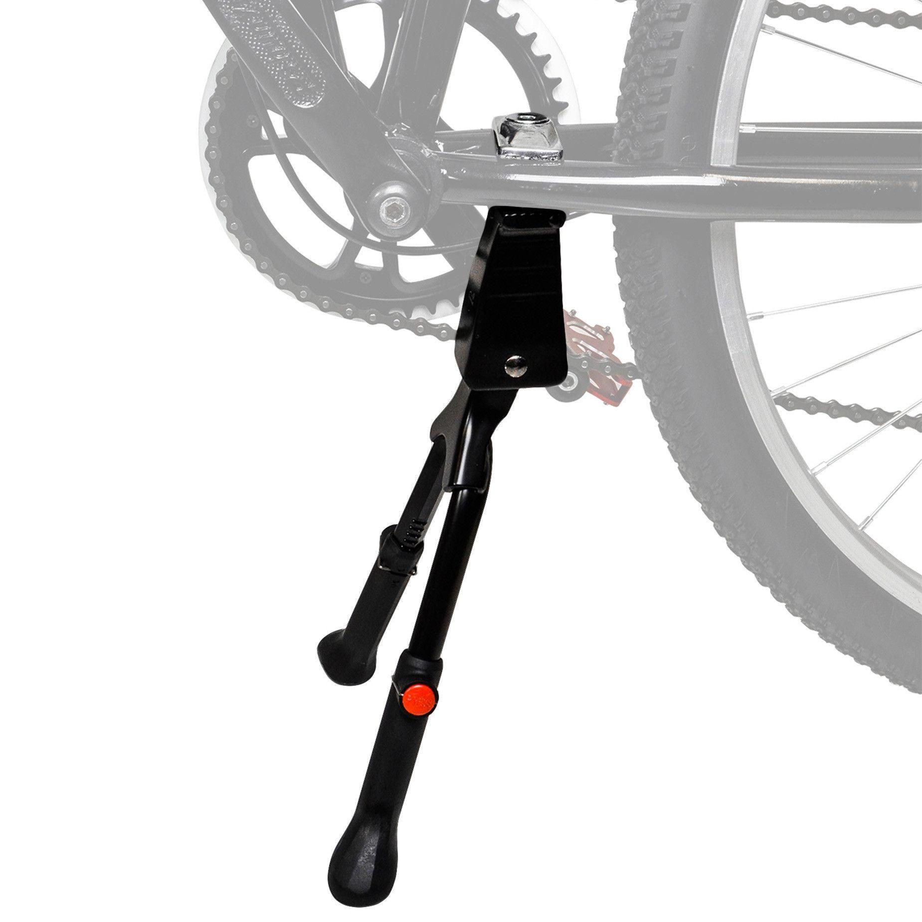 Portable Bike Kick Stand Aluminum  Cycling Bicycle Brace Parking Leg Rod Parts