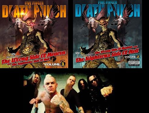 Five Finger Death Punch Music News, Tour Schedule & Concert Tickets (with VolBeat, HellYeah & Nothing More)