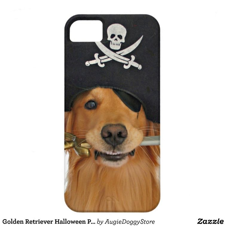 Golden Retriever Halloween Pirate Iphone 5 Cases Other Zazzlers