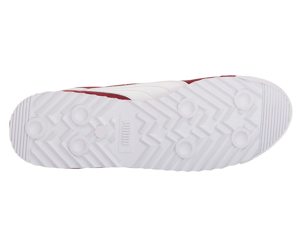 finest selection 62146 82174 PUMA Roma Suede Men's Lace up casual Shoes Red Dahlia/Puma ...