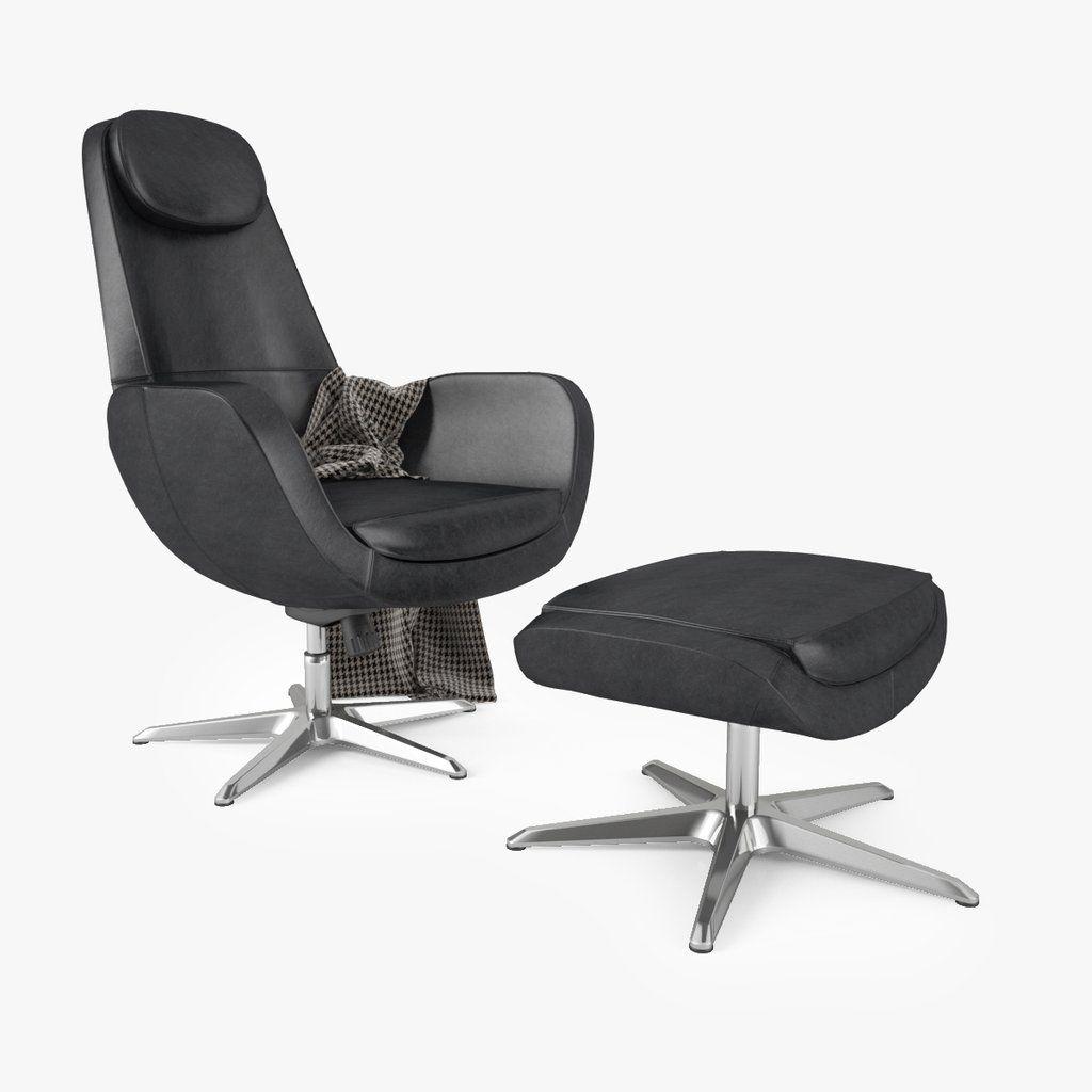 FREE IKEA Arvika Swivel Chair 3D Model | Swivel chair, Chair