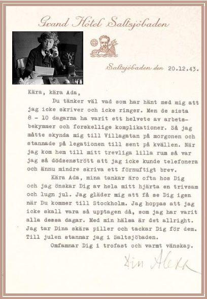 Alexandra Kollontai Sovjet Diplomat In Stockholm