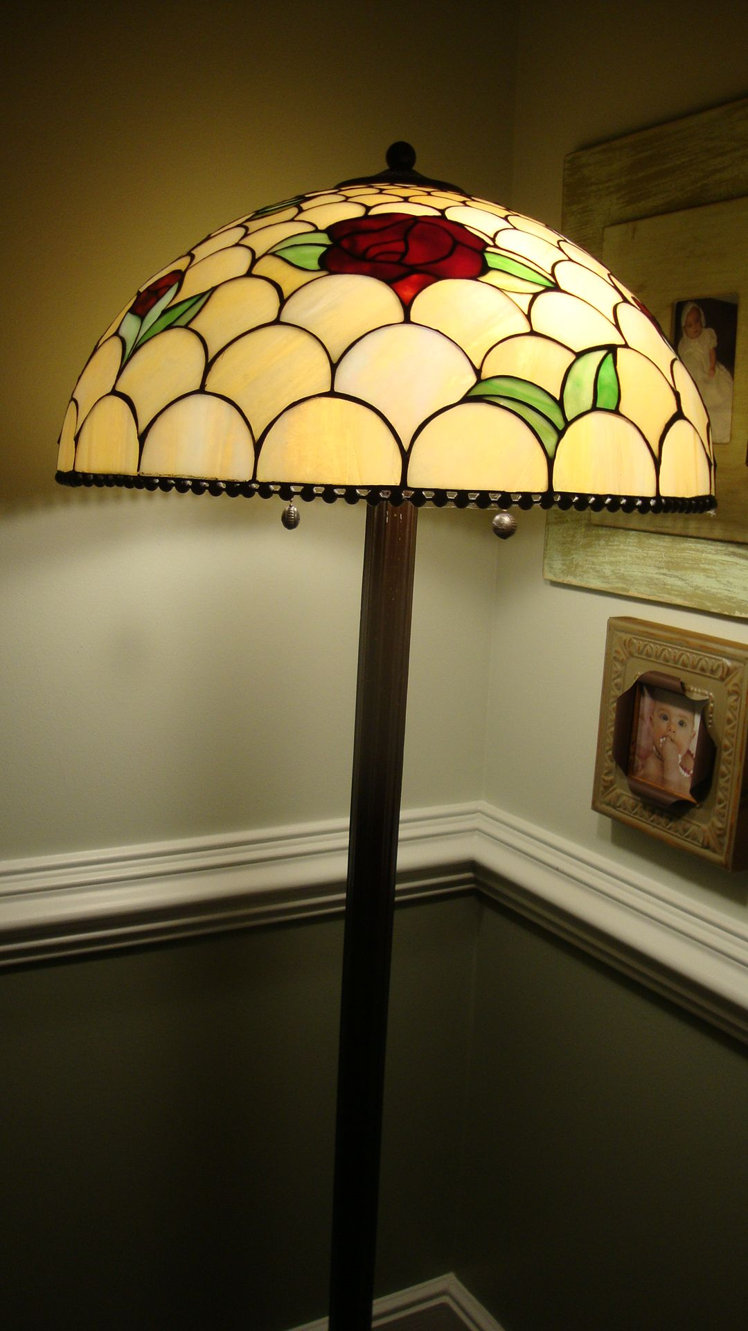 Stained Glass Floor Lamp U Light Up My Life