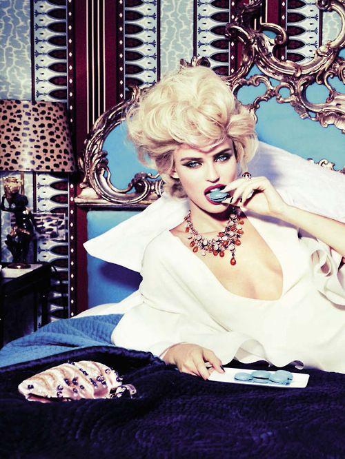 Bianca Balti by Ellen von Unwerth for Vogue Italia February 2013