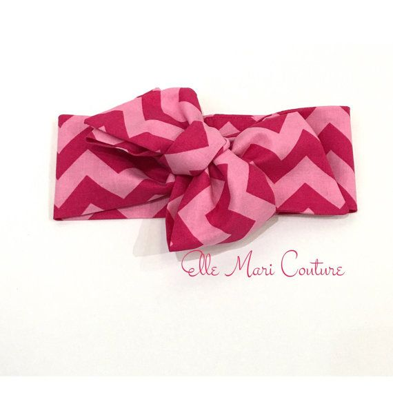 Baby Head wrap Turban Baby Headband  Girls by ElleMariCouture