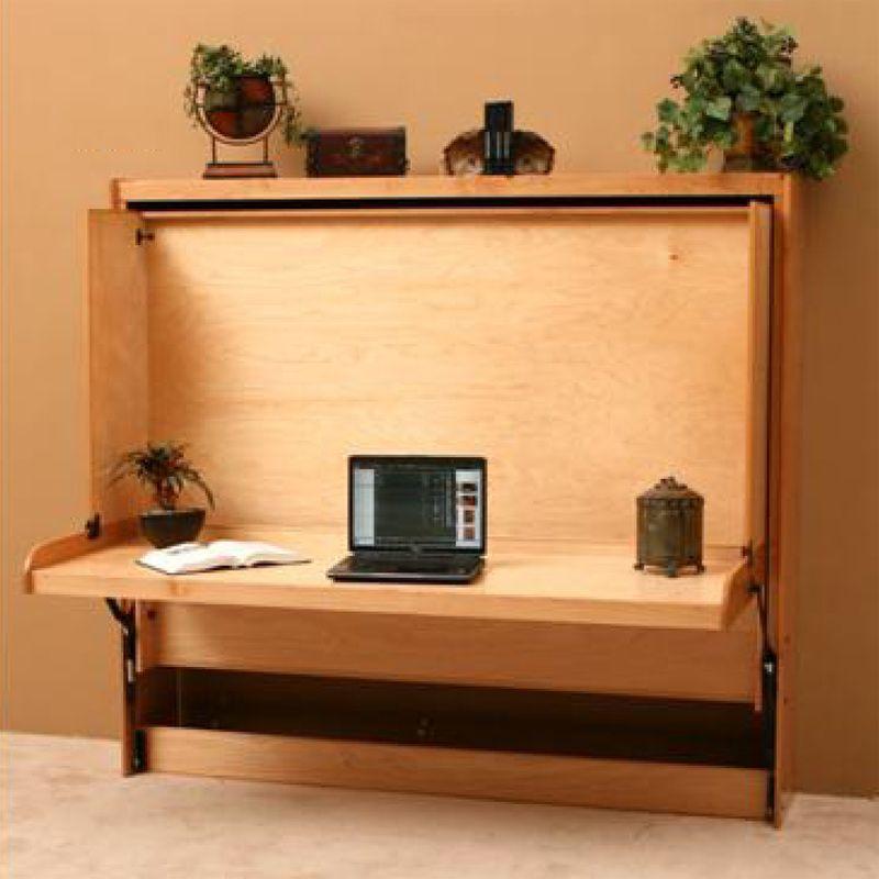 Hidden Desks hidden desk bed | wallbeds & murphy chest beds | pinterest | desk