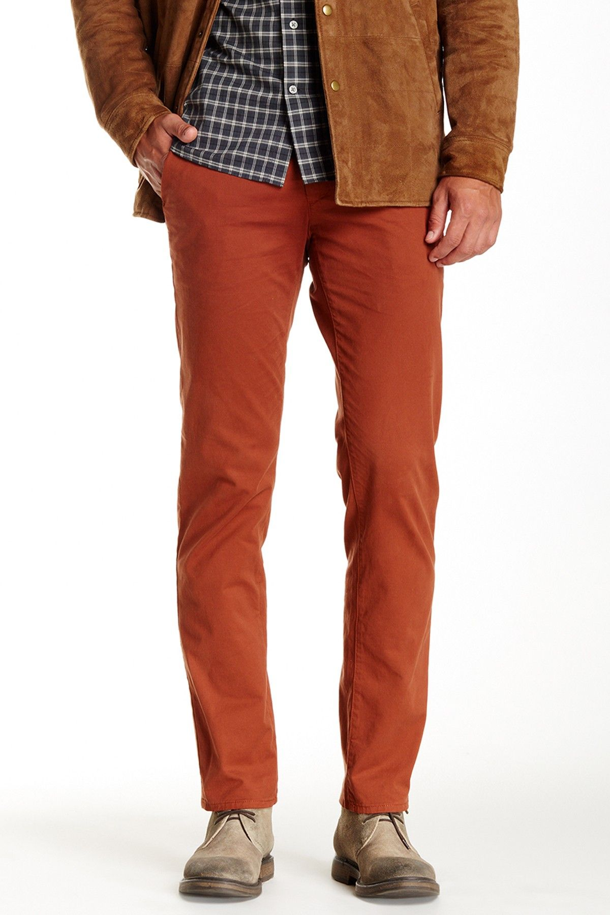 205324bd6d Love these Rust Colored AG Slim Leg Pants | For the Guys in 2019 ...