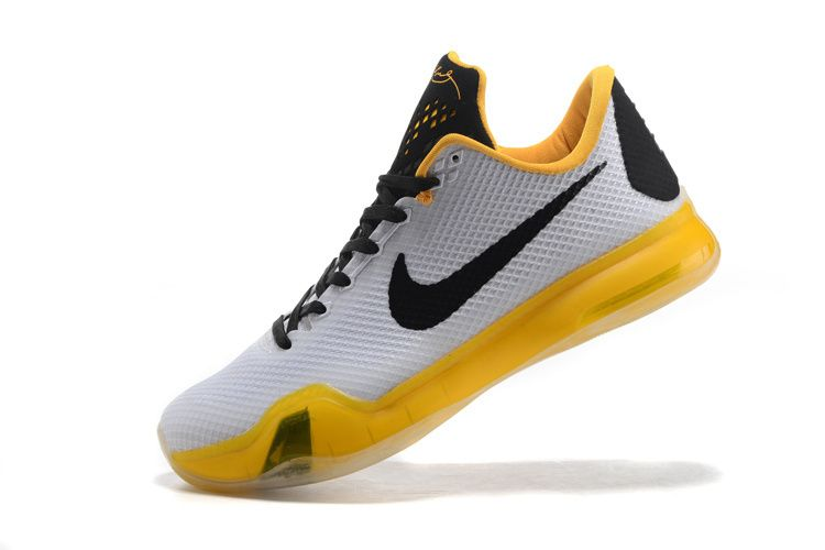 factory authentic cf2b4 199da WMNS Kobe 10 X White Gold Black | WMNS Basketball Shoes | Kobe 10 ...