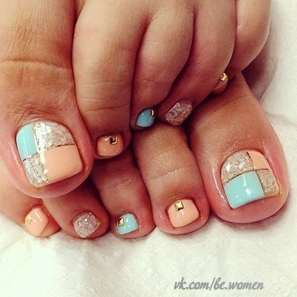 Pin by KatVoland❣ on [nails] | Pinterest | Pedicures, Cruise ...