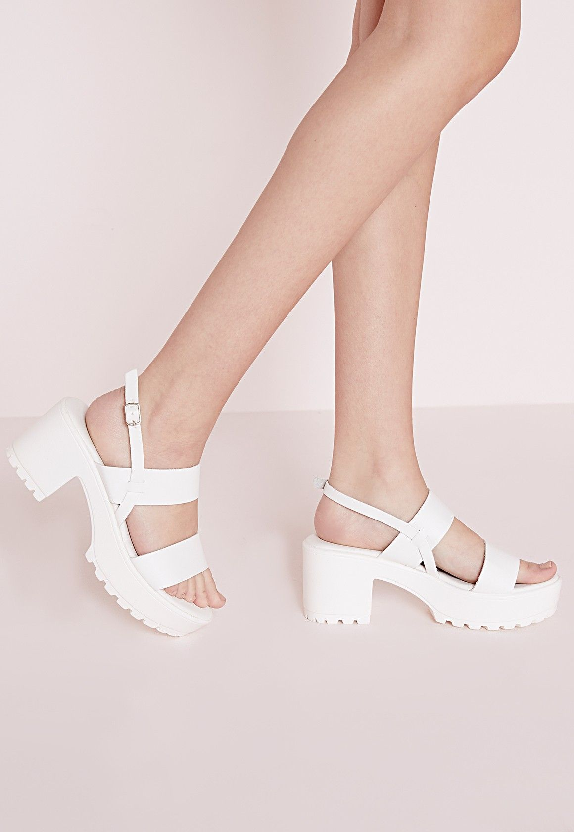 Cleated Strappy Sandals W6L3P