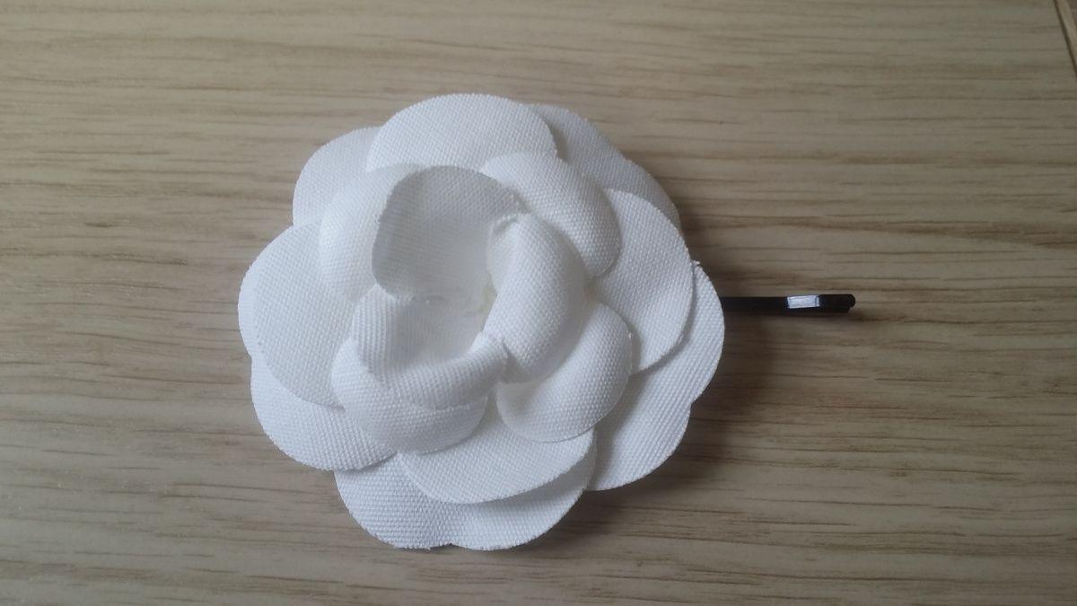Diy Chanel Camellia Hairpin Hapiness Wherever Accesorios Para El Pelo Broches Chanel