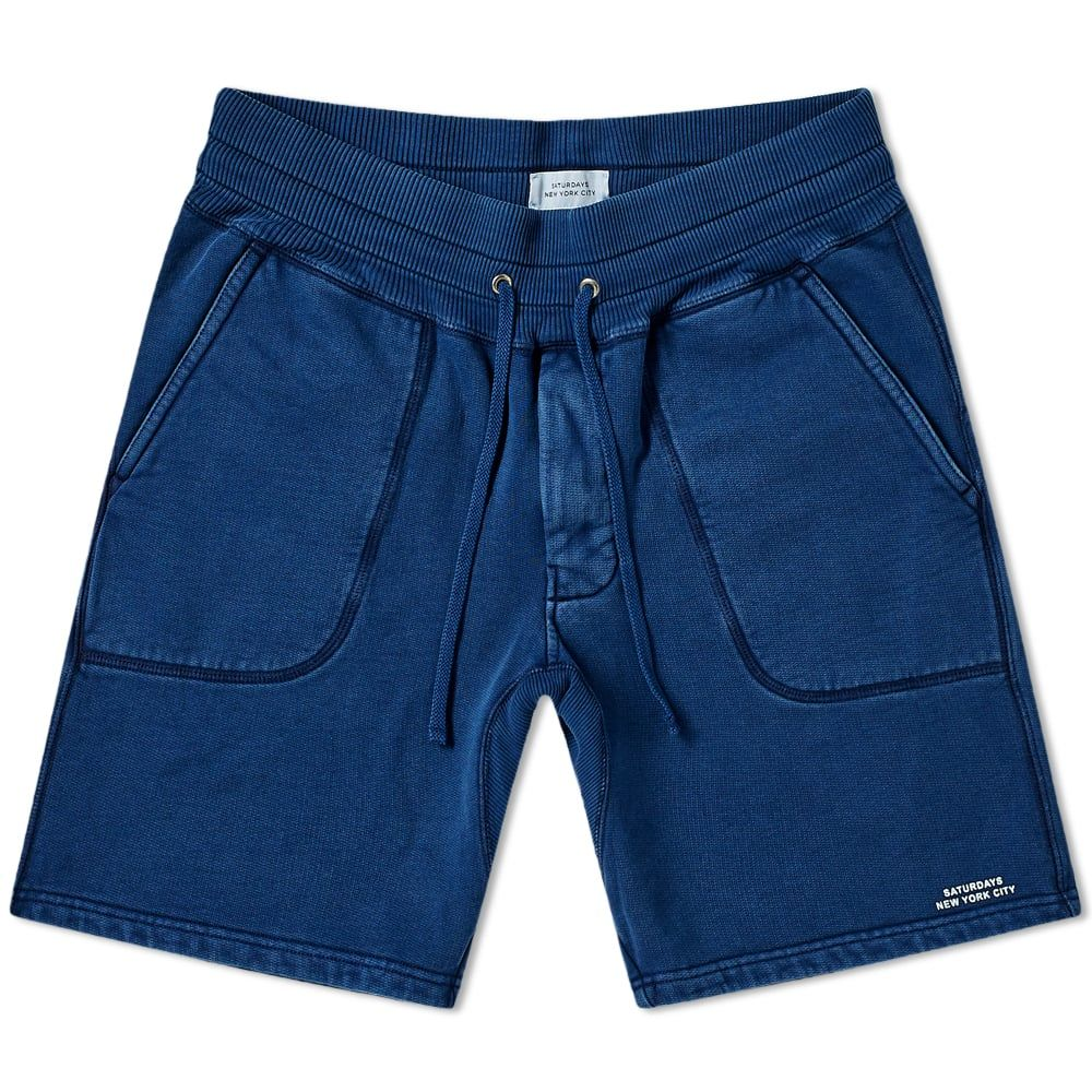 4909d29870 SATURDAYS SURF NYC SATURDAYS NYC AUSTIN SWEAT SHORT. #saturdayssurfnyc  #cloth