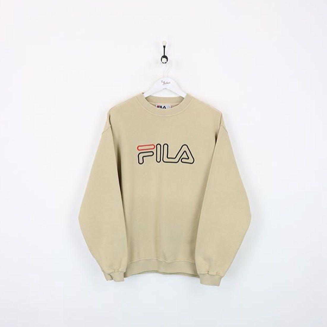 beige Fila sweater • | STYLE. in 2019 | Sweaters, Hoodies ...