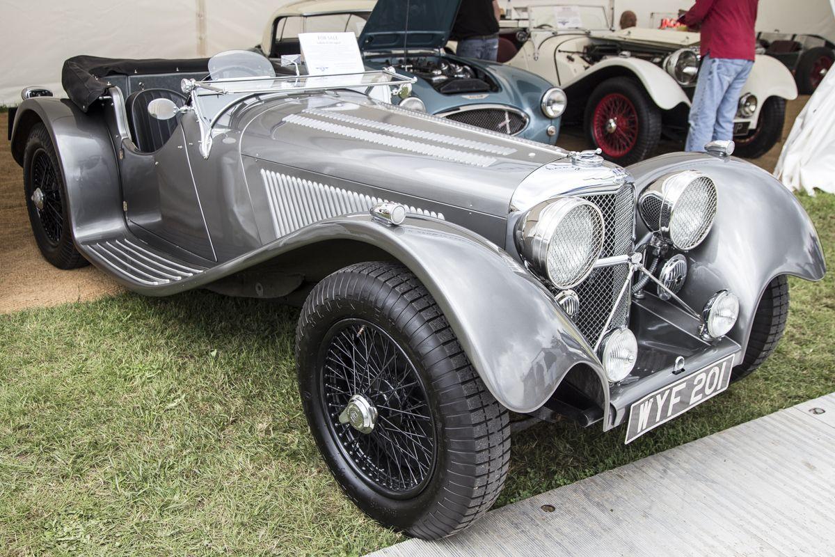#Jaguar Cars Legacy Starts with #SSJaguar100 #classiccar featuring SMITHS Gauges…