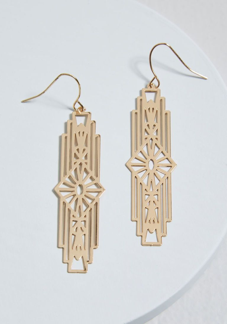 Art Deco Style Jewelry Boxes Positively Deco Earrings In 2019 Products Art Deco Earrings