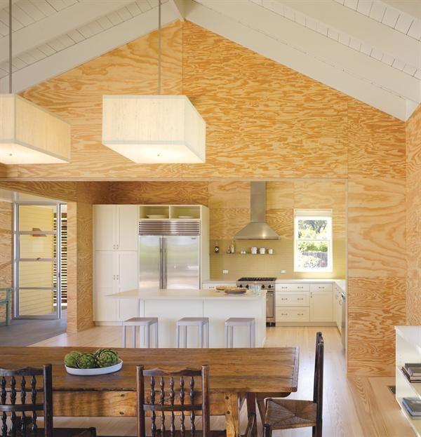 I Think I'm Leaning Toward Unpainted Wood Floor & Ceiling