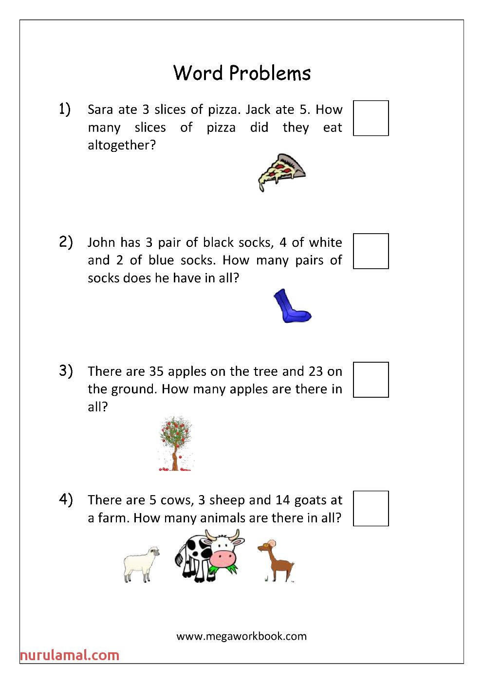 Year 3 Maths Worksheets Free and Printable in 2020 Word