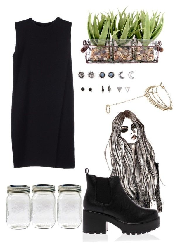 """""""#2"""" by tugowore ❤ liked on Polyvore featuring Alexander Wang, Topshop, With Love From CA and grunge"""