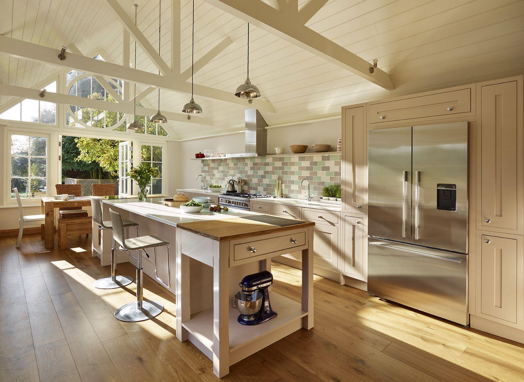 Contemporary Kitchen Garden Room In 2020 Kitchen New Kitchen