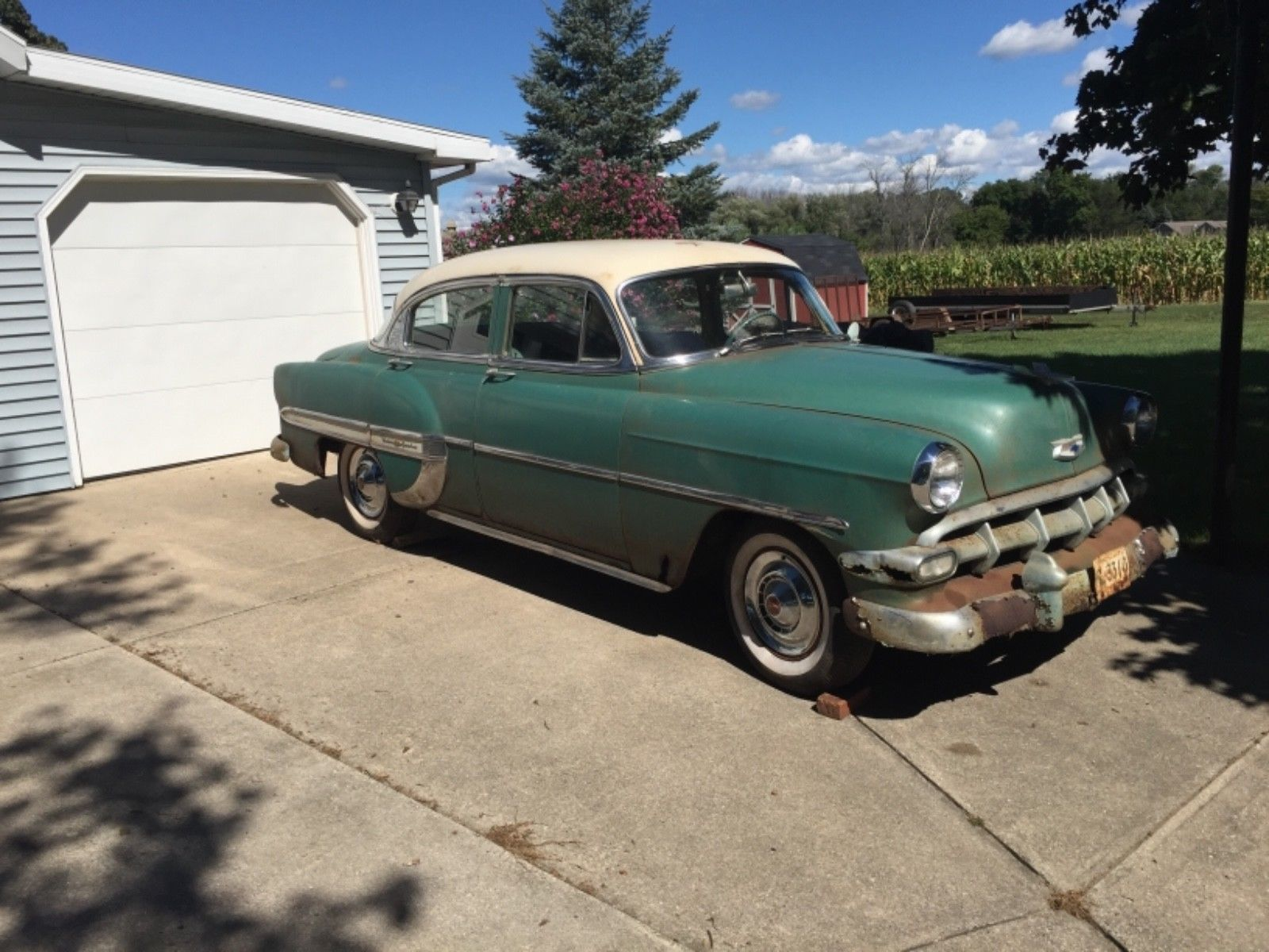 Awesome Amazing 1954 Chevrolet Bel Air 150 210 Chevy One Owner