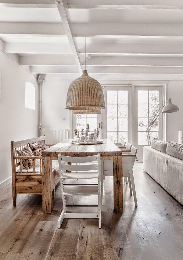 Madera natural muebles estilo n rdico escandinavo - Decoracion etnica salones ...