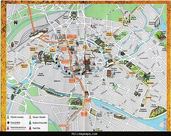 awesome CologneBonn Map Tourist Attractions Holidaymapq