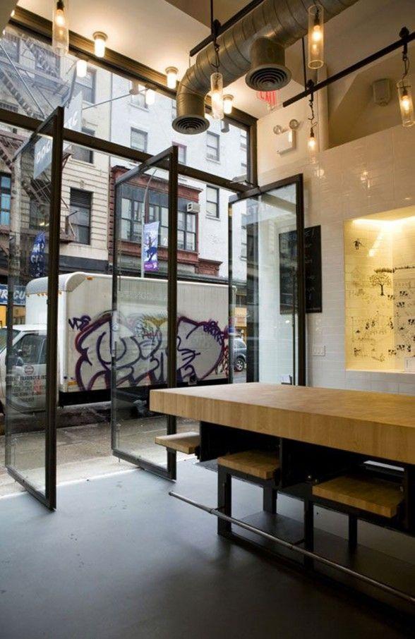 Interior Design Dogmatic Restaurant Storefront 2 Minimalist Interior Style  Of Dogmatic Restaurant Storefront By EFGH