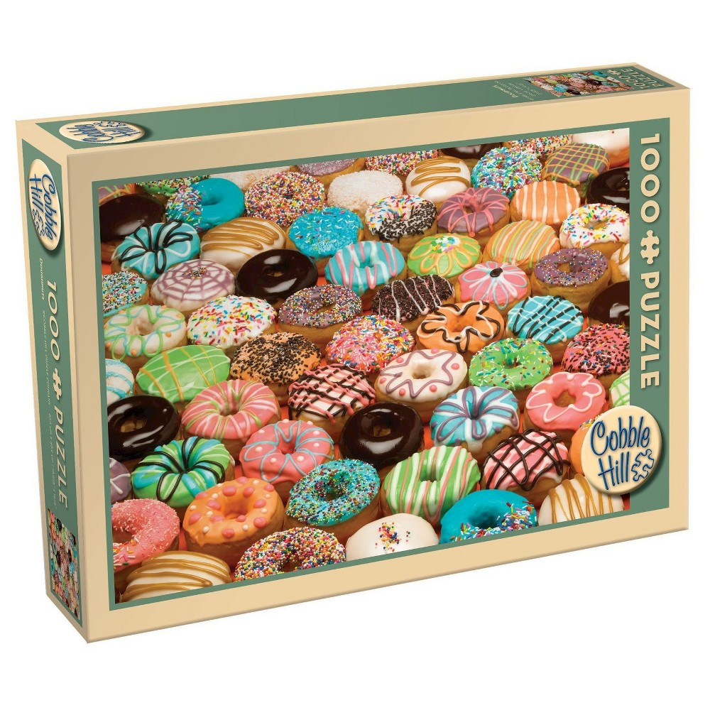 Target Wedding Registry Gift Card: Cobble Hill Doughnuts 1000pc Puzzle